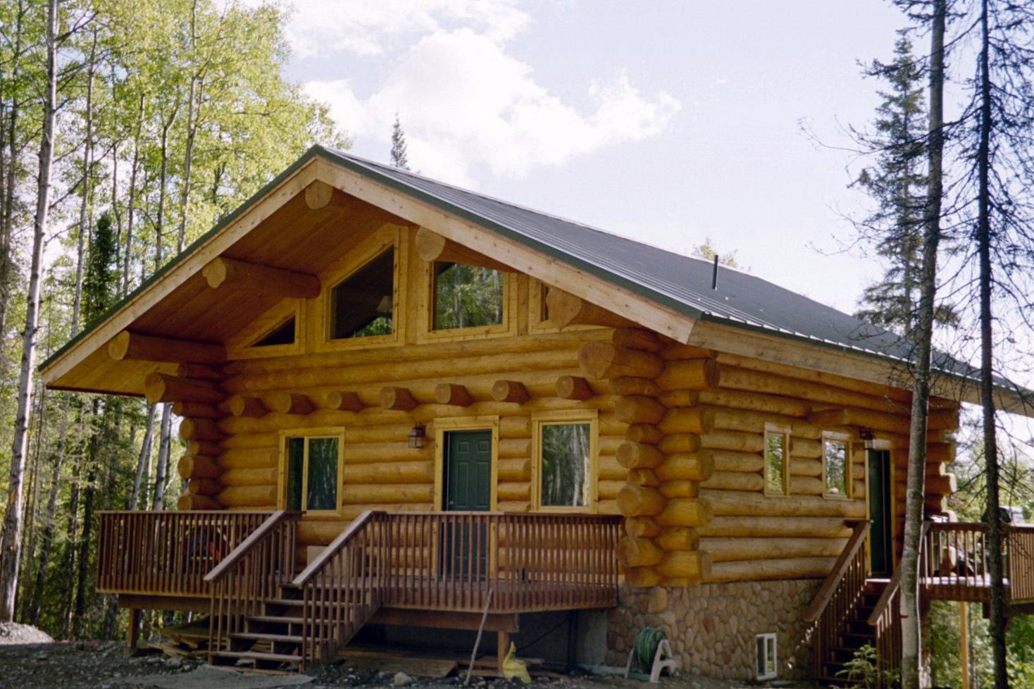 alaska haus kaufen alaska log home alaska blockhaus blockh user haus pinterest alaska. Black Bedroom Furniture Sets. Home Design Ideas